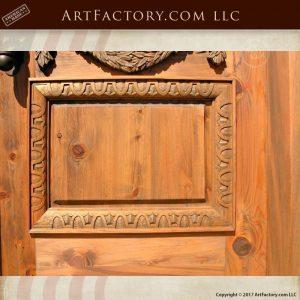 master hand carved wooden door