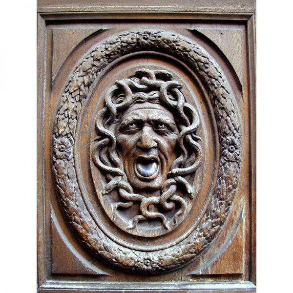 Antique Carving Marais district Paris, France