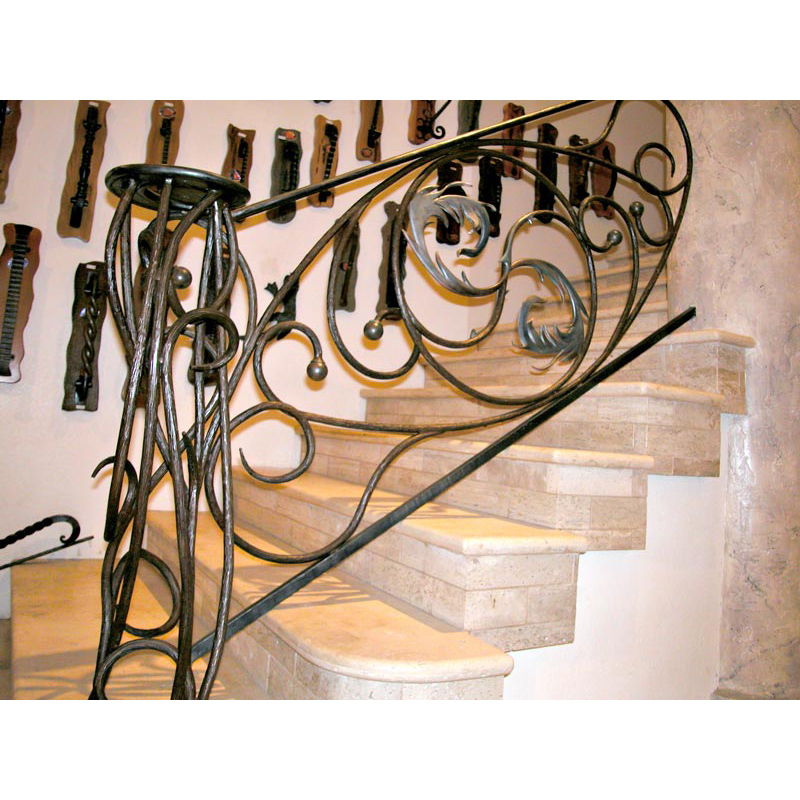 Wrought Iron Railing | Custom Iron Stair Ways U2013 BAL0174