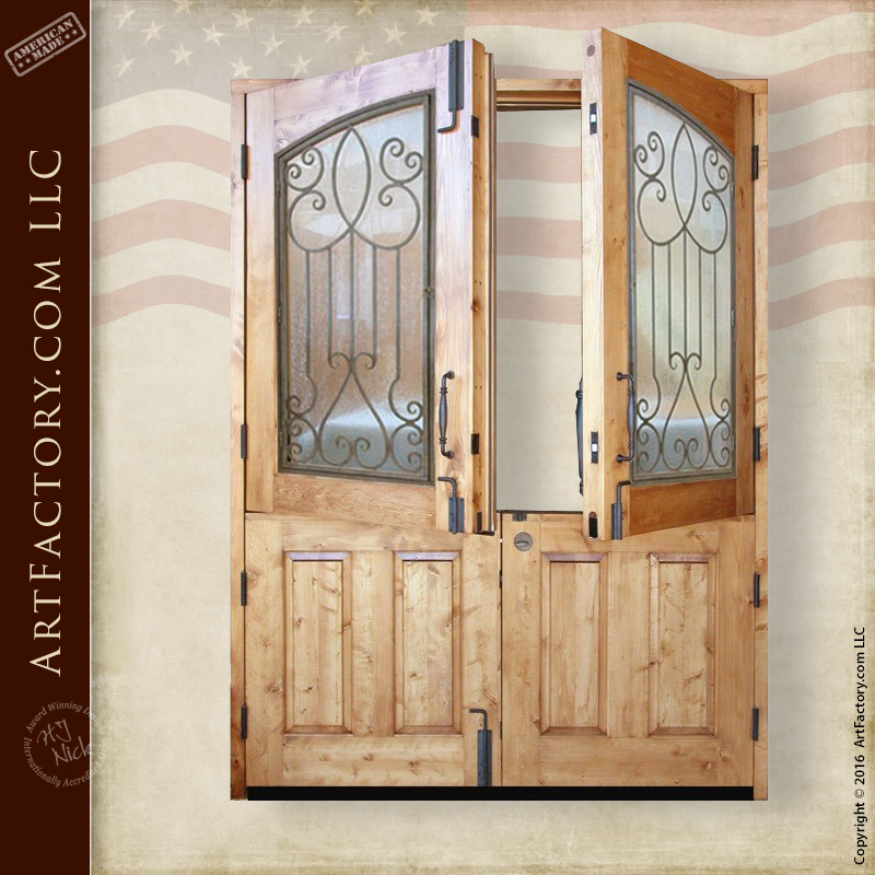 French Double Dutch Doors Unique Exterior Custom Doors