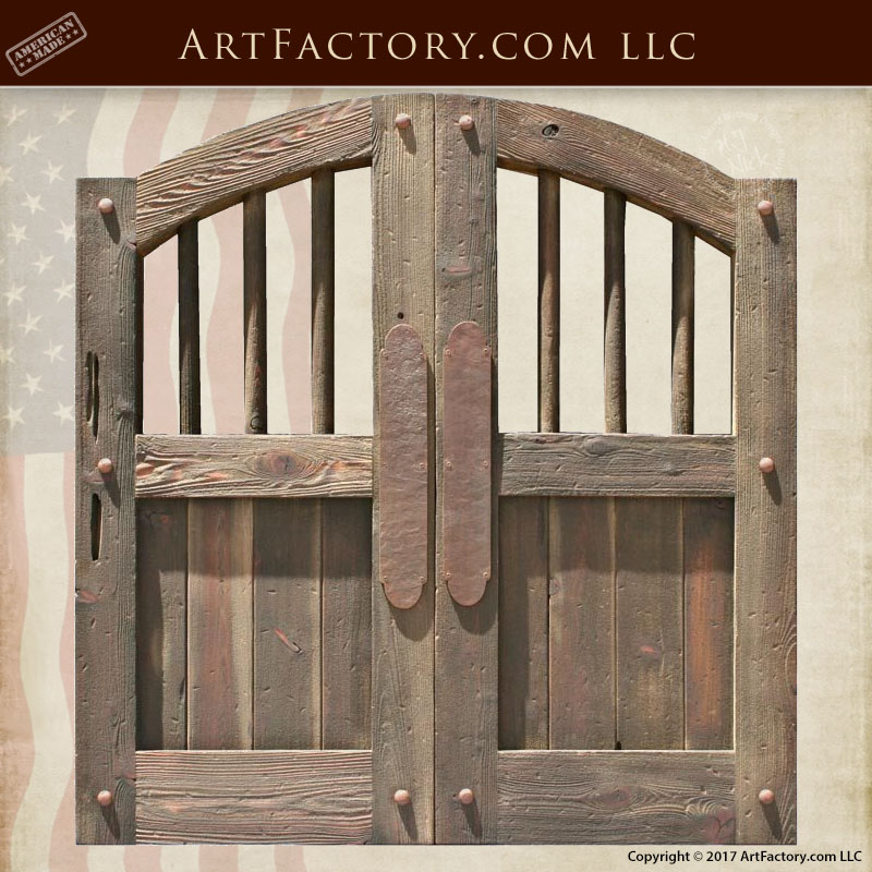 Old West Saloon Doors Custom Handmade From Solid Wood
