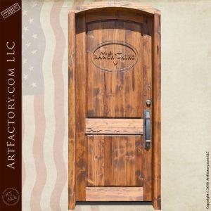 custom MB Ranch King door