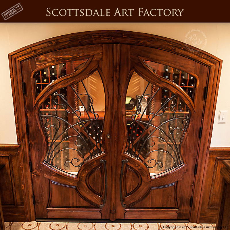 Entry Doors Custom Glass And Wood Doors French Iron