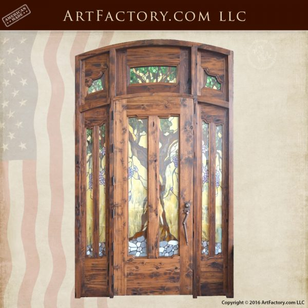 craftsman Gamble House door