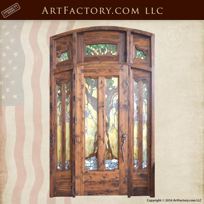 craftsman Gamble House door