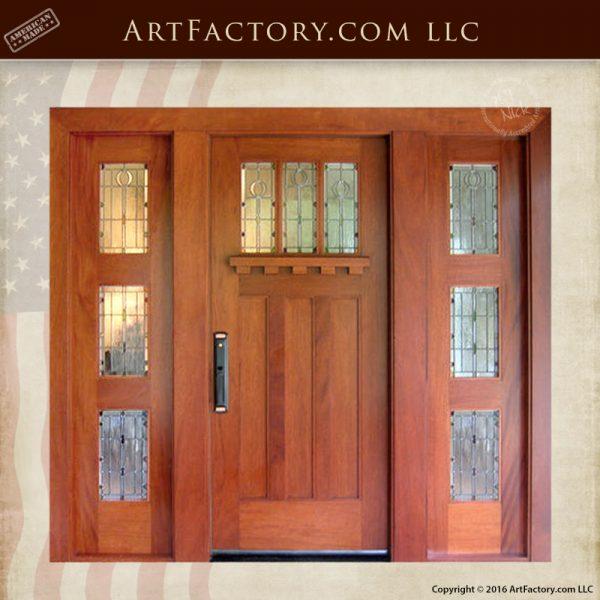 Craftsman Custom Entrance Door