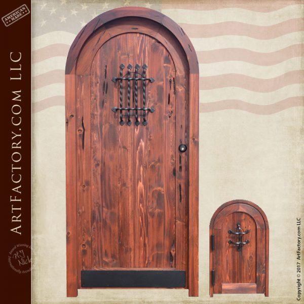 custom matching wood doors