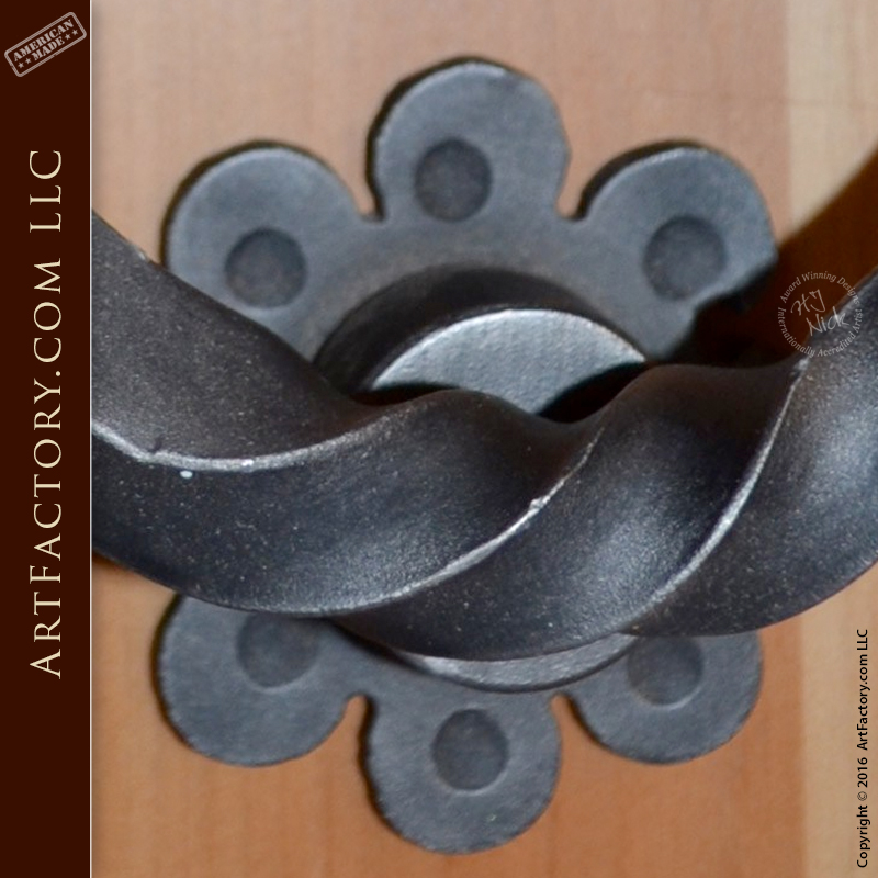 Custom Ring Door Knocker Wrought Iron Door Harware