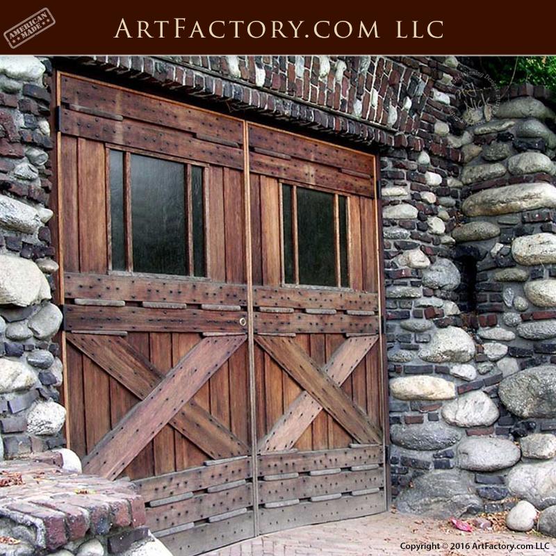 Craftsman Style Det Garage Garage: Craftsman Handmade Garage Doors