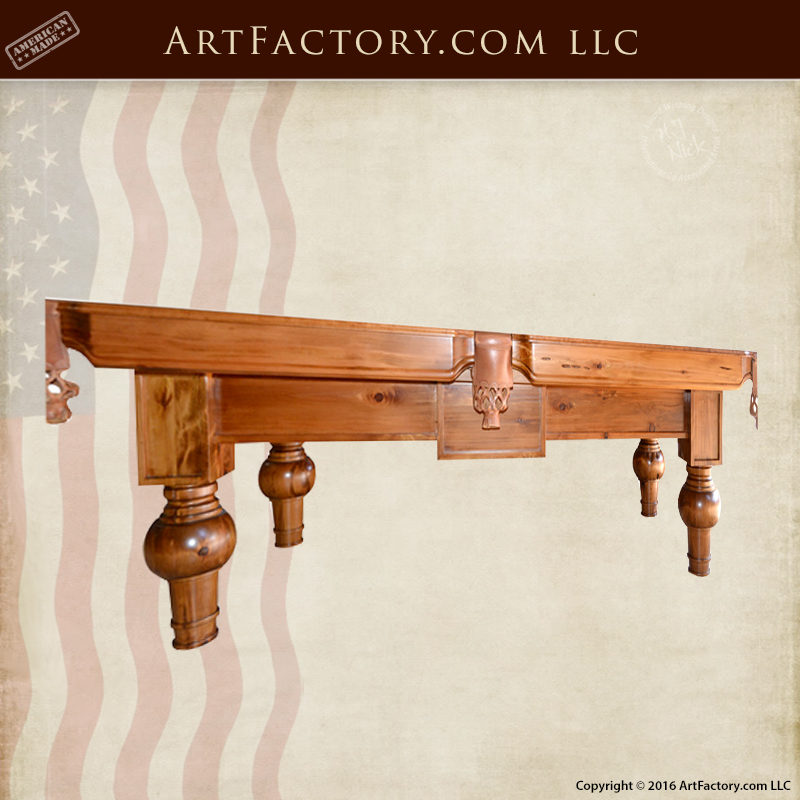 Custom-pool-table-hand-crafted