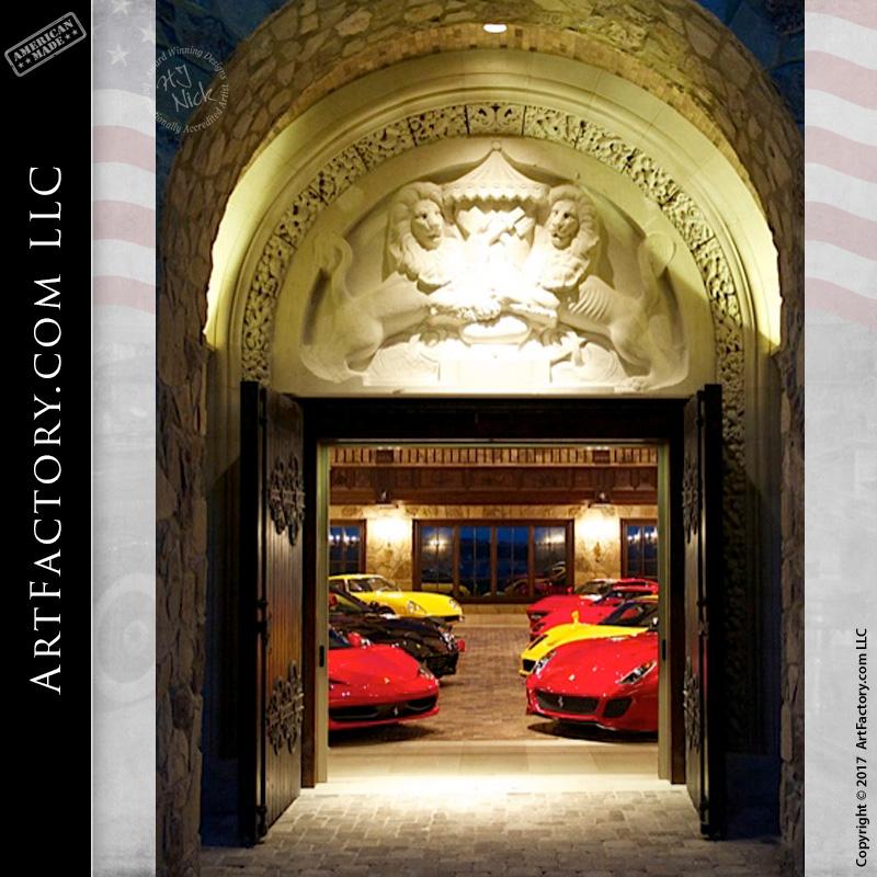 ultimate castle style garage doors