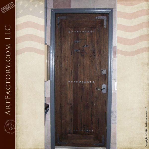 castle inspired entrance door