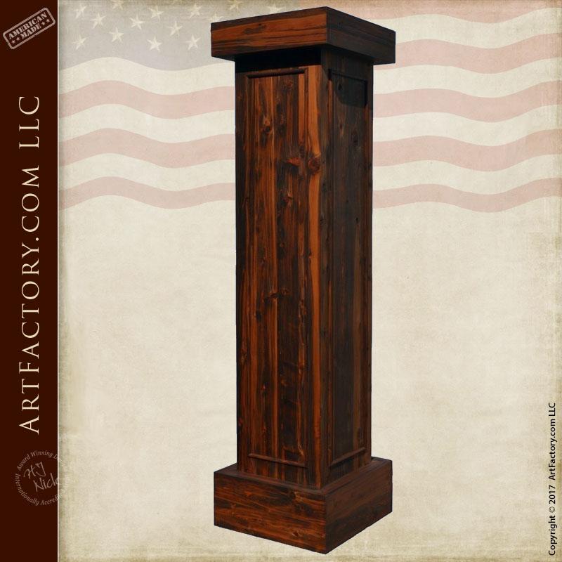 Pillar Posts Architectural Wood Exterior And Interior Decorative Columns