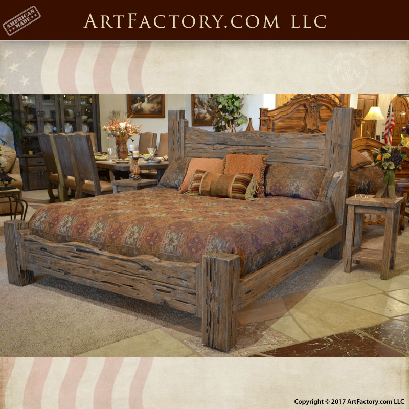 rustic bedroom sets king rustic king bed custom western style wood bed 17014
