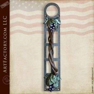custom grape vine door handle