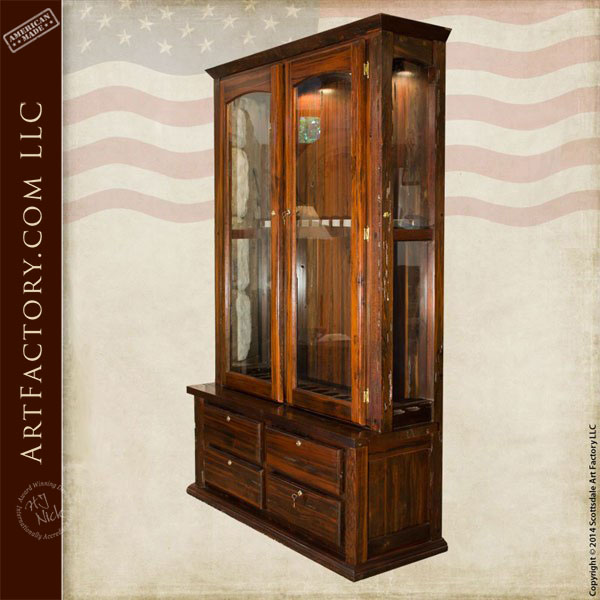 Custom Gun Cabinet Custom Designed Fine Art Gun Safe Display