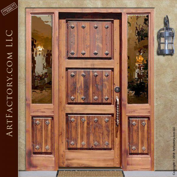 historically inspired entrance door
