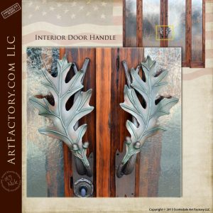 hand carved lodge doors