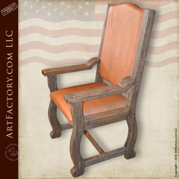 Handmade dining room chairs
