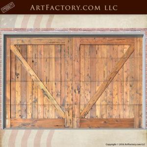 Cross Buck Garage Doors