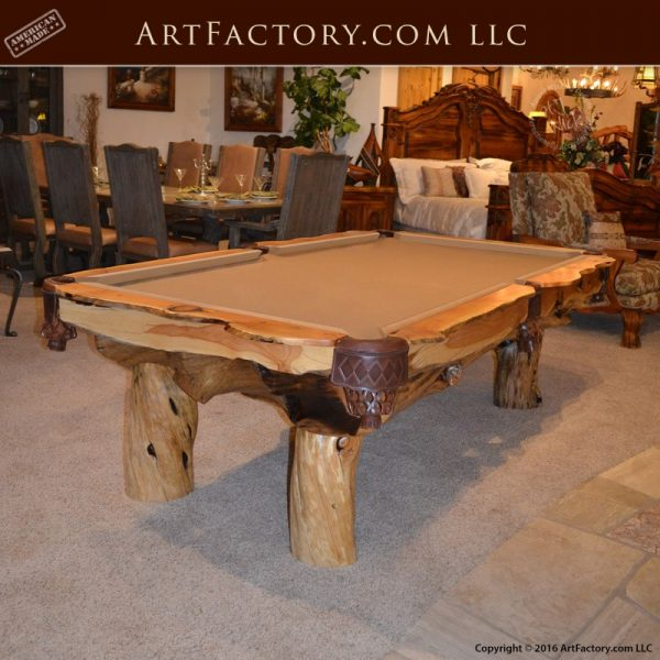 Hand Crafted Billiards Table