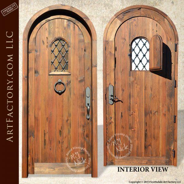 medieval speakeasy door
