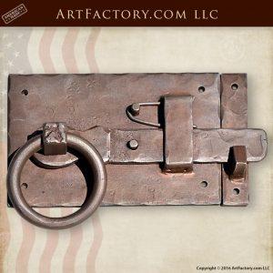 Custom Medieval Iron Hardware