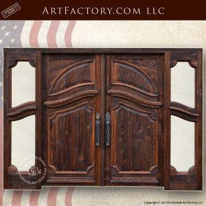 entrance double doors