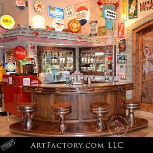 Happy Days soda fountain bar