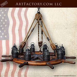 nautical chandelier