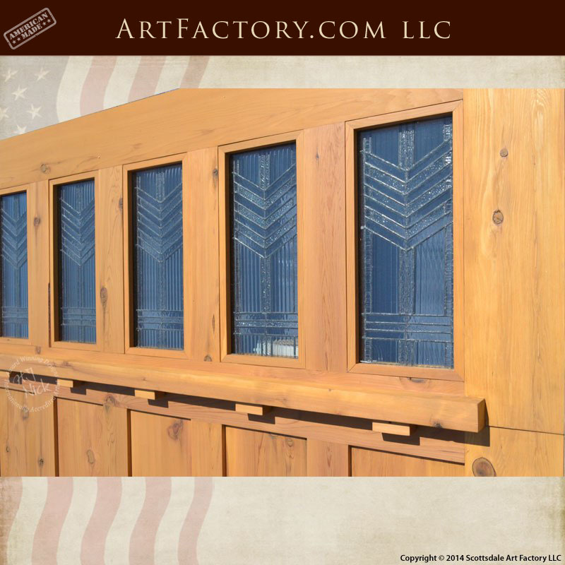 Craftsman style garage doors handcrafted from natural for Craftsman style garage
