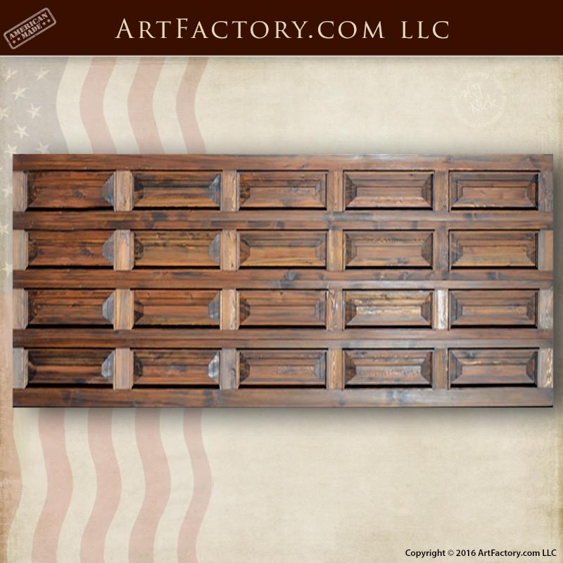 Wood Panel Garage Door Custom Overhead Roll Up Wooden Doors