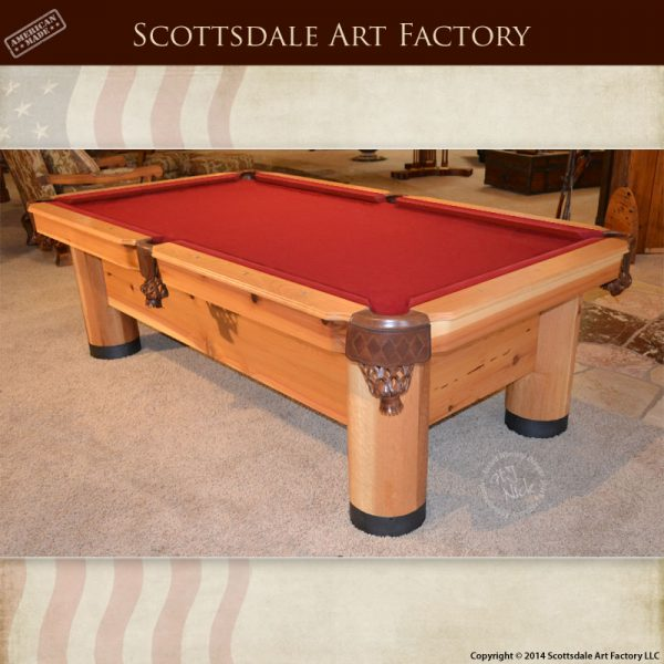 Billiards Tables | Hand Carved Custom Pool Tables