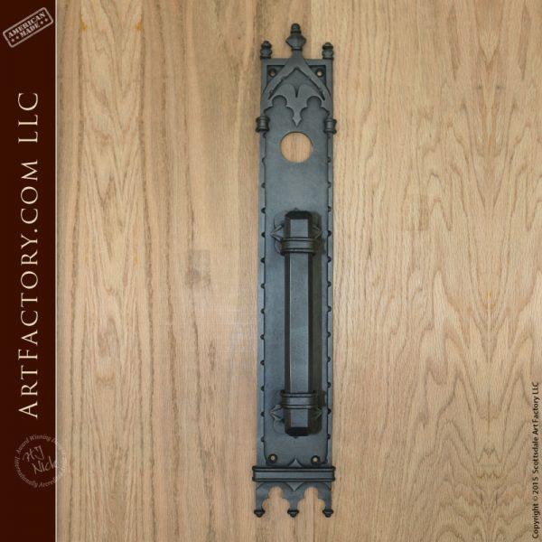 Custom Gothic Door Handles