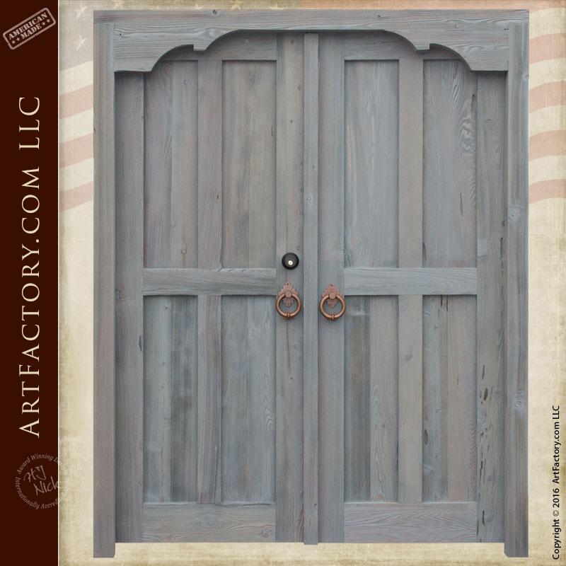 custom double entrance doors