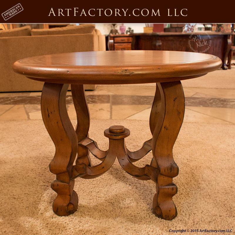 Foyer Custom Furniture Design Round Table Scottsdale Art Factory