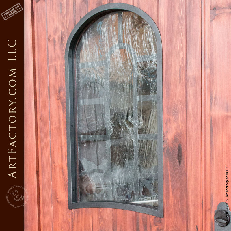 Custom Wooden Door Sidelights Amp Transom Wild Stallion