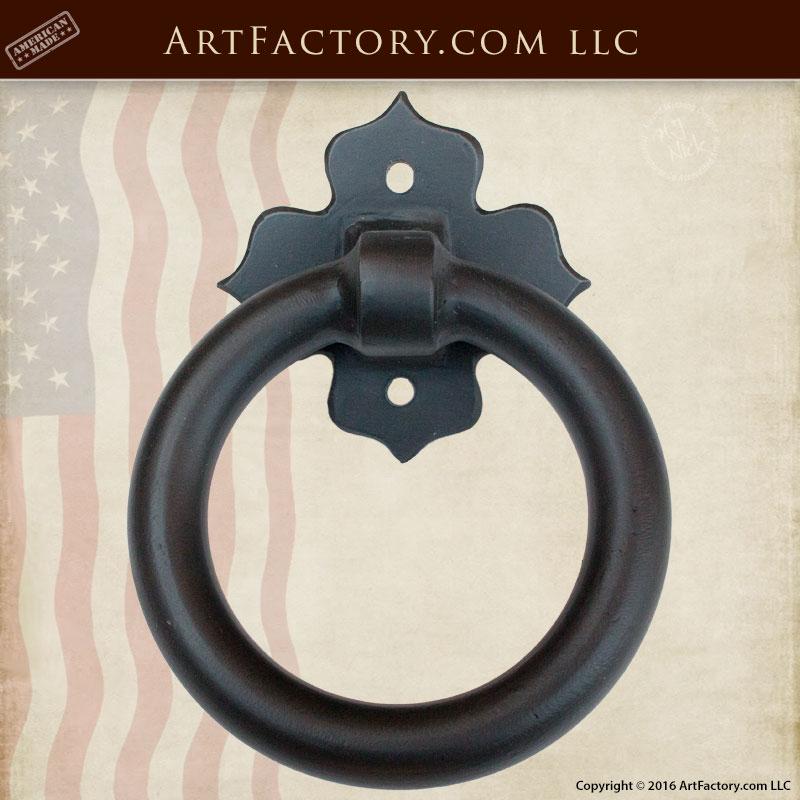 custom escutcheon door knocker