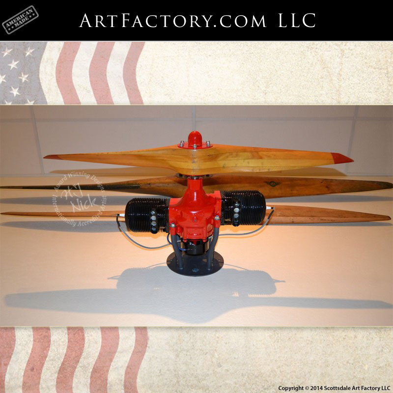 1945 Wwii Radioplane Target Drone Engine Amp Propeller