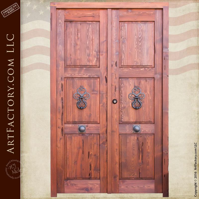 European double doors