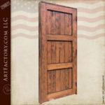 three panel custom entry door