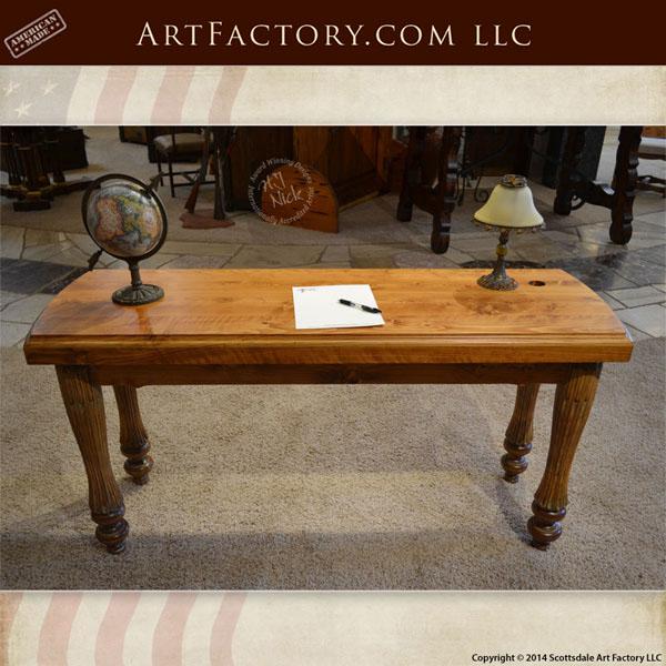 custom handmade office desk