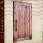 Solid Wood Medieval Castle Door