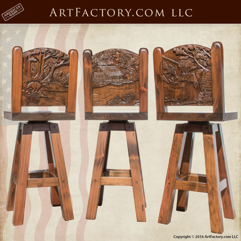 Dining Chairs Stools And Benches Hand Carved Solid Wood