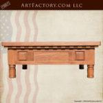 custom craftsman coffee table