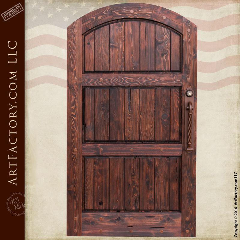 Custom Wood Gates: Custom Wood Entry Gates