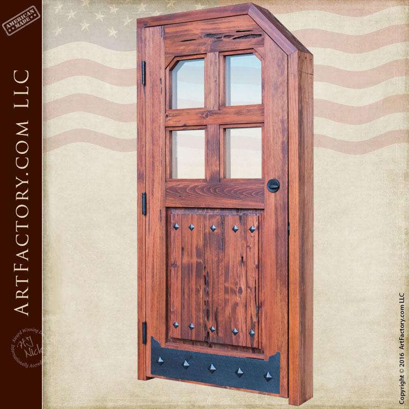Exterior Custom Doors Farmhouse Or Cottage Style Entry