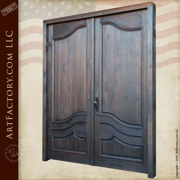 Solid wood front entry doors european double doors for European exterior doors
