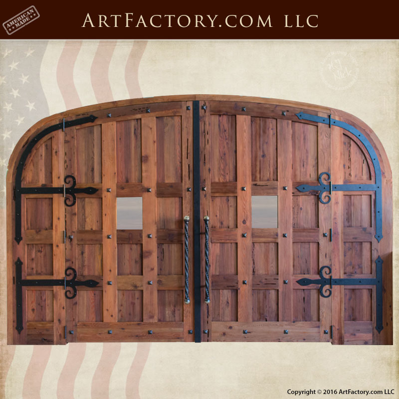 custom wine cellar double doors