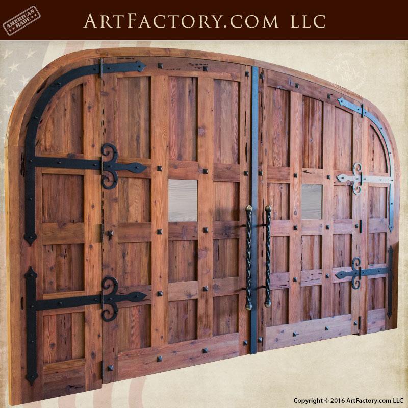 Wooden Doors Custom Built Wood Wine Cellar Doors For